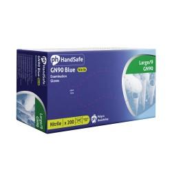 Boîte de 200 Gants Nitrile GN90 Blue - Ph HandSafe